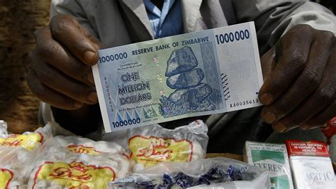 Zimbabwe swaps hyperinflation for deflation with use of US