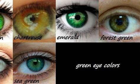 My eyes are chartreuse