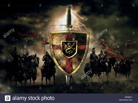 KNIGHTS OF THE ROUND TABLE KING ARTHUR (2004 Stock Photo