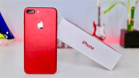 Product RED iPhone 7 Plus Unboxing & First Look!!! (256 GB
