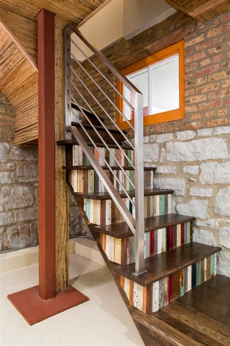 15 Unique Eclectic Staircase Designs You Don't Want To