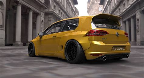 Tra-Kyoto Rocket Bunny Golf Mk7 Is A Mad Tuning Exercise