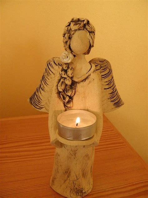 261 best Clay - Angels images on Pinterest | Xmas, Ceramic