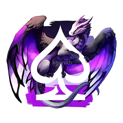 """""""Asexual Pride Dragon"""" by kaenith   Redbubble"""