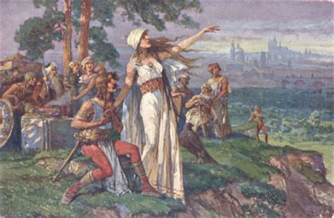 Princess Libuse: the wisest woman in Czech literary