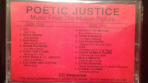 Poetic Justice - Music From The Motion Picture (Cassette
