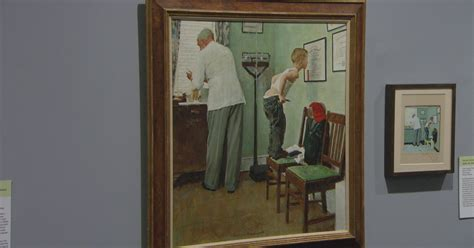 The making of Norman Rockwell's famous paintings - CBS News