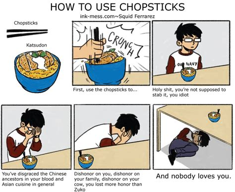How to use chopsticks | How to Make Sushi | Know Your Meme