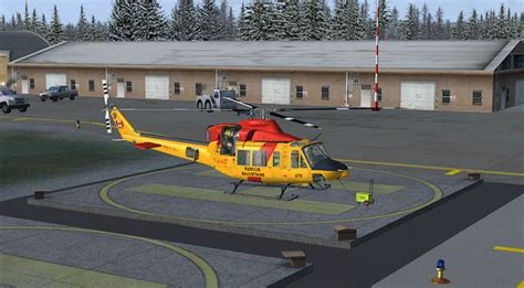 Canadian Forces Bell 412 for FSX