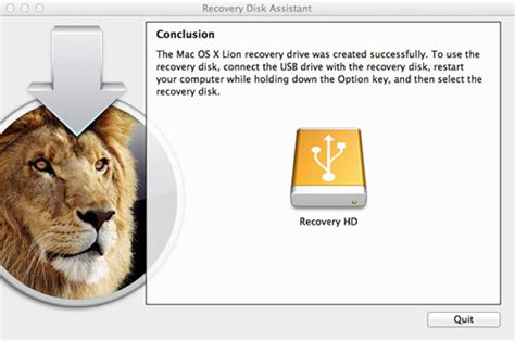 How to Create a Mac OSX Lion Recovery Disk