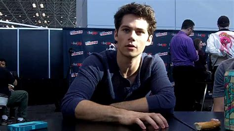 NYCC 2013 Teen Wolf Dylan O'Brien - YouTube