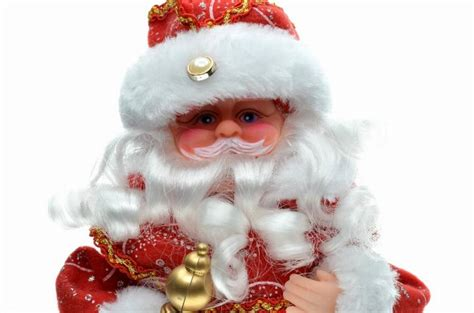 30Cm New Year Christmas Ornaments Electric Santa Claus