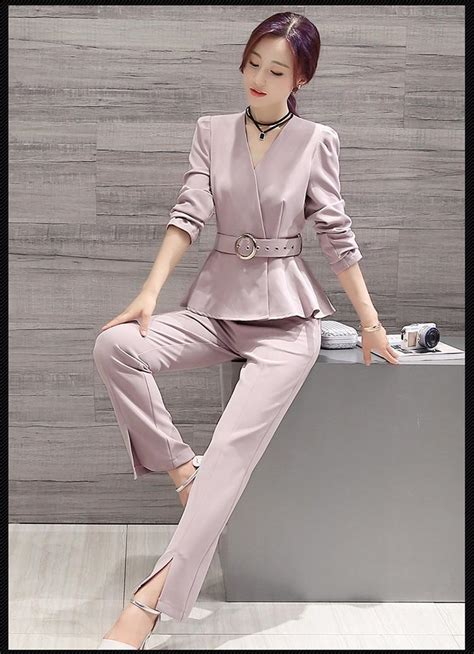 Elegant Pant Suits For Women New 2017 Womens Business