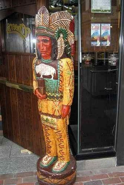 """Cigar Store Indian by Frank Gallagher 5' """"Cheers"""" TV Show"""