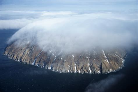 Flying through the Bering Strait was one of my greatest