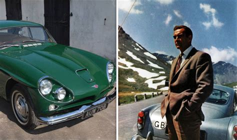 Jensen CV8 owned by SEAN CONNERY is up for sale for £135k