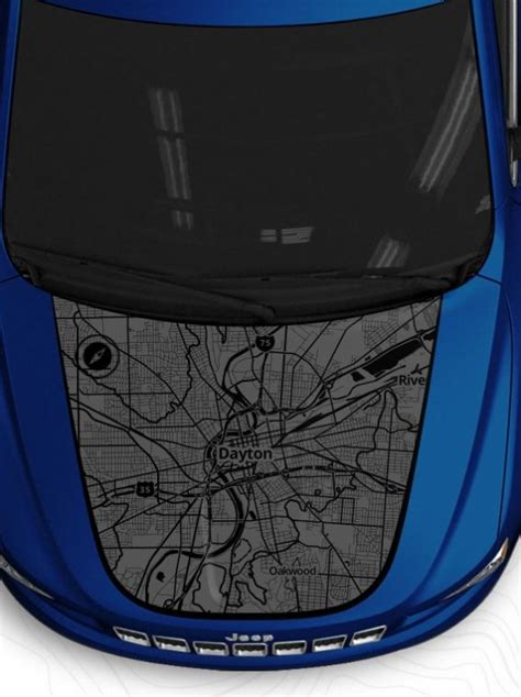 Design Your Own Jeep Custom Hood Decals Online - The News