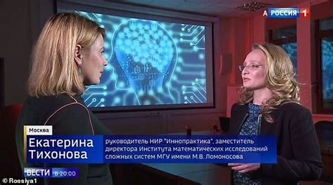Putin's daughter appears on TV days after 'confirmation