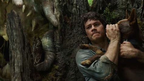 Dylan O'Brien battles giant beasties in the Love and