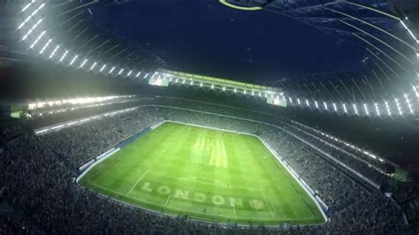 WATCH: Tottenham reveal retractable pitch at new stadium