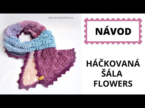 THIS IS ME SHAWL - FREE CROCHET PATTERN (TRIANGLE SCARF