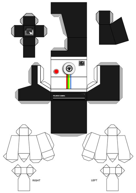 8 Best Images of 3D Printable Camera Template - Printable