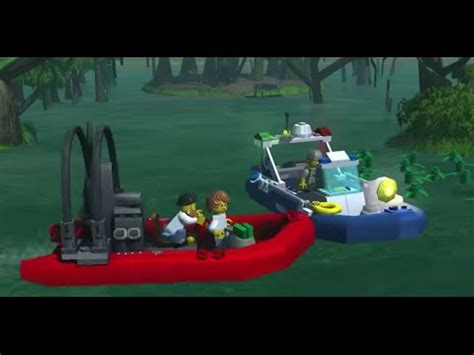 Swamp Police - LEGO City - My City game trailer - YouTube