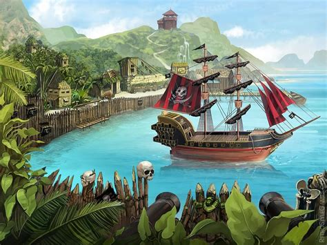 Game Backgrounds – Painterly, Illustrative Stages and Game