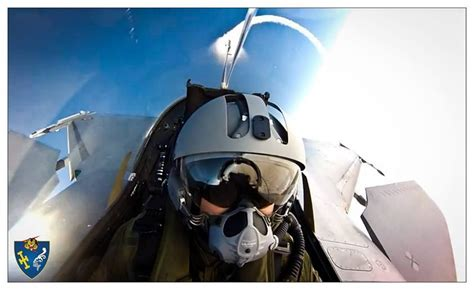 Another Stunning Selfie: French Rafale fighter pilot – The