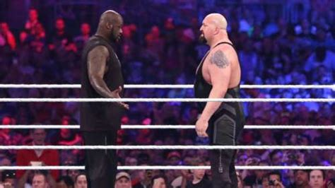 WWE News: Big Show blames Shaquille O' Neal's weight for